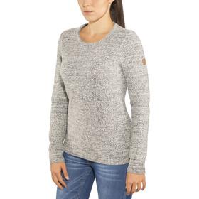 Fjällräven Övik Structure Suéter Mujer, eggshell/grey